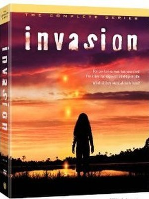 Invasion (TV series) - Complete Series DVD cover