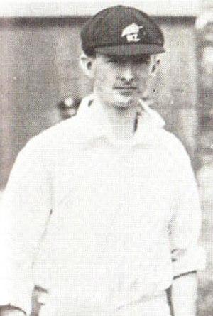 John Mills (New Zealand cricketer) - Image: JE Mills