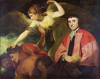 James Beattie (poet) - Beattie, by Sir Joshua Reynolds.