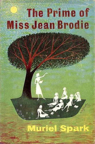 The Prime of Miss Jean Brodie (novel) - First edition cover