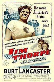 <i>Jim Thorpe – All-American</i> 1951 film by Michael Curtiz