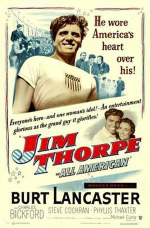 Jim Thorpe – All-American - Image: Jim Thorpe – All American poster
