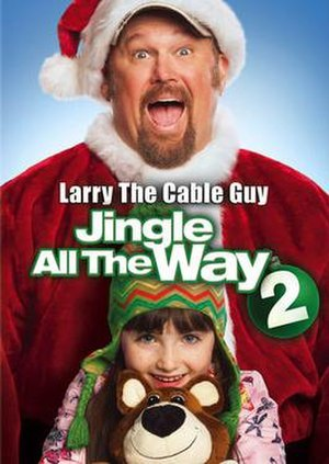 Jingle All the Way 2 - DVD poster