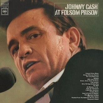 At Folsom Prison - Image: Johnny Cash At Folsom Prison