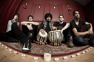 Jurojin (band) - Press shot of Jurojin