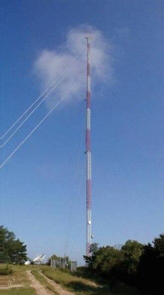KXAN-TV - KXAN's transmission tower.