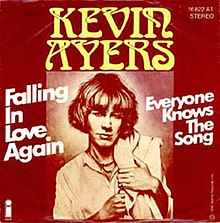 Kevin Ayers - Falling In Love Again single.jpg