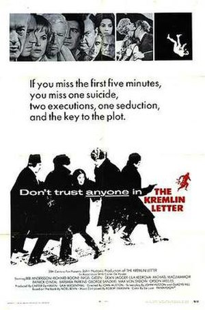 The Kremlin Letter - Theatrical poster for The Kremlin Letter