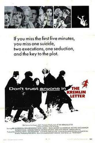 The Kremlin Letter - Theatrical poster for The Kremlin Letter