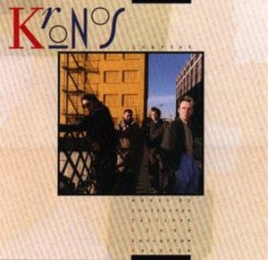 Kronos Quartet (album) - Image: Kronos kronos