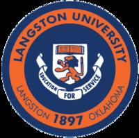 Langston University seal.png