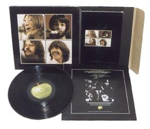 Let It Be - The original box set packaging of Let It Be. It contained a 160-page booklet with photos and quotes from the film.