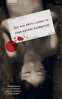 <i>Let the Right One In</i> (novel)