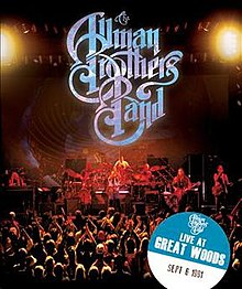 The Allman Brothers Band onstage