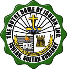 Logo of the Notre Dame of Isulan.png