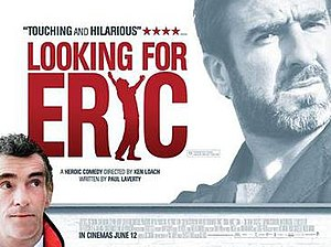 Looking for Eric - Theatrical release poster