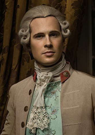 Lord John Grey (character) - David Berry as Lord John Grey (2017)