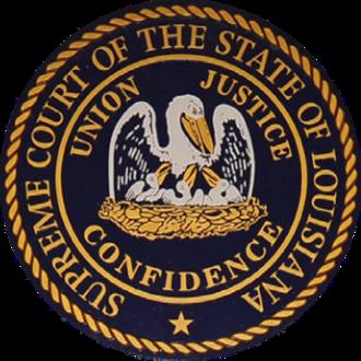 Louisiana Supreme Court - Seal of the Louisiana Supreme Court