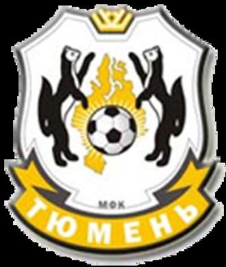 MFK Tyumen - Image: MFK Tyumen