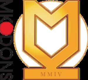 Milton Keynes Dons F.C. - MK Dons badge