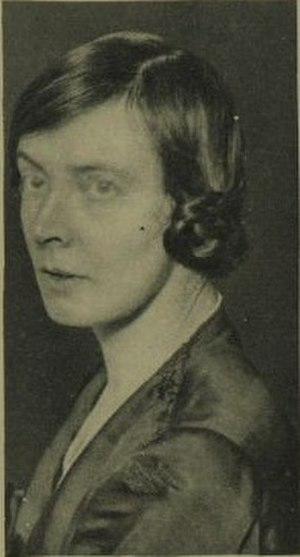 Mary Hamilton (Labour politician) - Hamilton in 1923