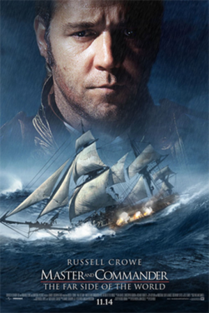Master and Commander: The Far Side of the World - Theatrical release poster