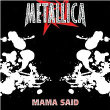 Metallica - Mama Said cover.jpg
