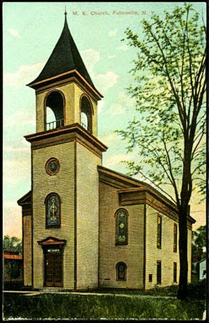 Fultonville, New York - Image: Methodist Church Fultonville