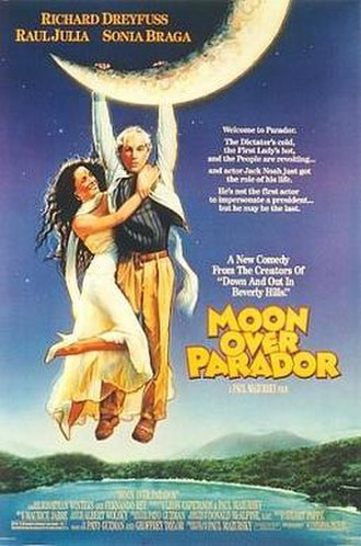 Moon over Parador - Theatrical release poster