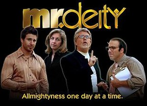 Mr Deity Title Card