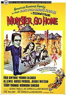 munster go home movie