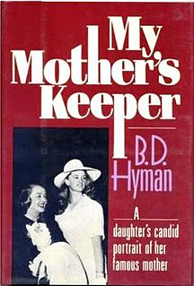 <i>My Mothers Keeper</i>