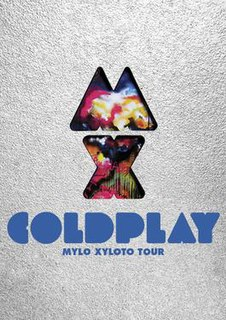 Mylo Xyloto Tour 2011-2015 concert tour by Coldplay