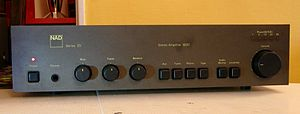 NAD Electronics - The iconic NAD 3020 integrated amplifier