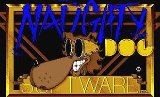 Naughty Dog - The original logo used for Naughty Dog