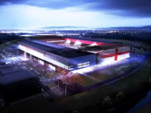 Bristol City Stadium - Image: New bristol city stadium