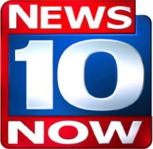 Spectrum News Central New York - Logo as News 10 Now, used from November 2003 to March 15, 2010.