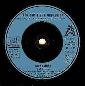 Nightrider (song) - Image: Nightrider single