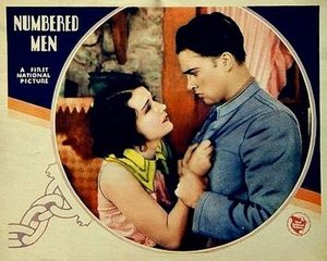 Numbered Men - theatrical poster