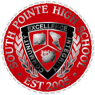 South Pointe High School (Rock Hill, South Carolina) - Image: Official Seal of South Pointe High School