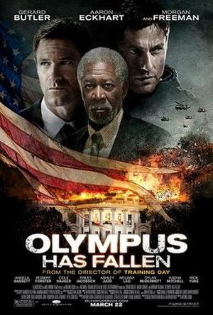Olympus Has Fallen - Theatrical release poster