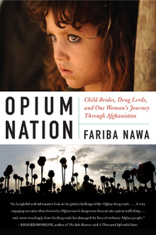 Cover showing an opium bride in Afghanistan