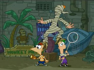 Are You My Mummy? 13th episode of the first season of Phineas and Ferb