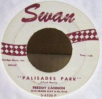 Palisades Park (Freddy Cannon song) - Image: Palisadespark 45