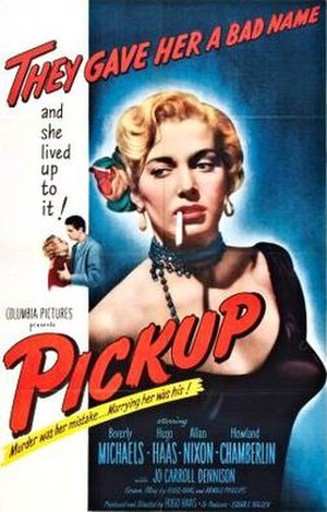 Pickup (film) - Theatrical release poster