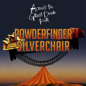 Across the Great Divide tour - Image: Powderfinger and silverchair across the great divide tour