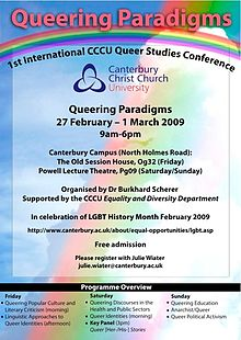 Poster for the first QP conference