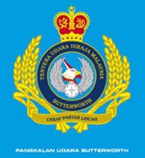 RMAF Butterworth - Image: RMAF Butterworth logo