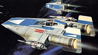 A-wing - Image: ROTJ A wings