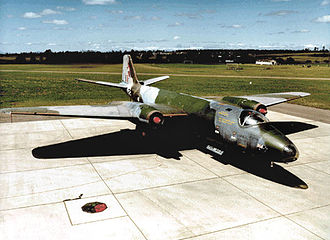 Phan Rang Air Base - Royal Australian Air Force MK-20 Canberra Bomber after return from Phan Rang Air Base, South Vietnam, 1971